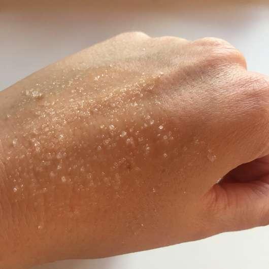 ISANA Salz-Öl-Peeling Totes Meer Salz