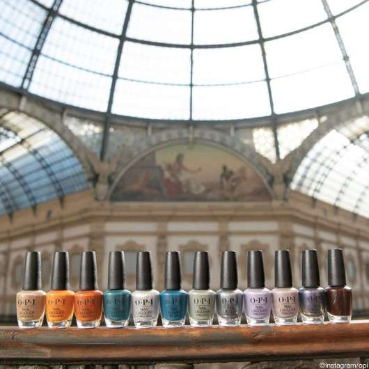 OPI Muse of Milan Collection