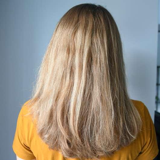Haare zu Testbeginn - Argand'Or Arganöl Haaröl