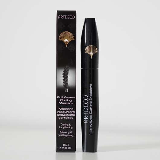 ARTDECO Full Waves Curling Mascara, Farbe: 1 Black (LE)