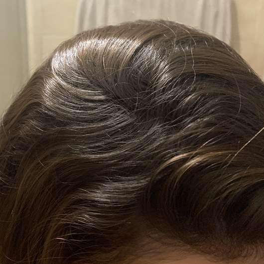 Haare vor der Anwendung - Balea 2in1 Trockenshampoo & Volumenpuder