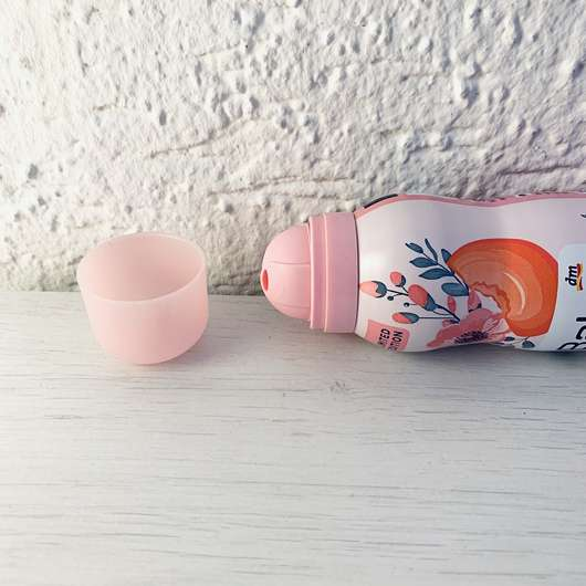 Balea Rasierschaum Peachy Rose (LE) - Sprühkopf