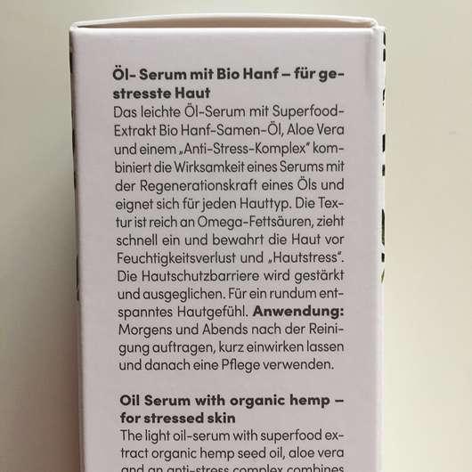 BIO:VÉGANE Bio Hanf Öl-Serum