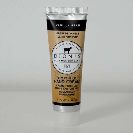 "DIONIS Goat Milk Hand Cream ""Vanilla Bean"""