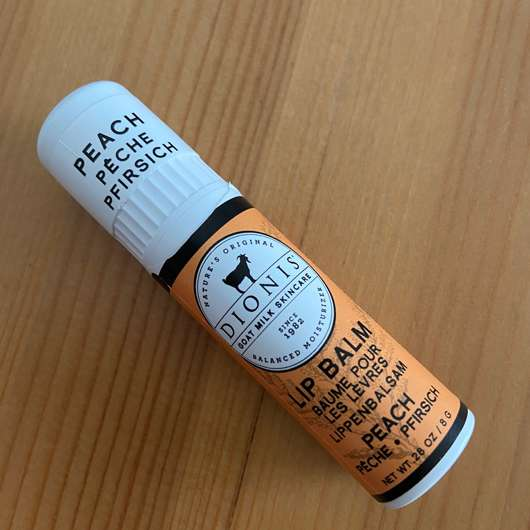 "<strong>Dionis™</strong> Goat Milk Lip Balm ""Peach"""