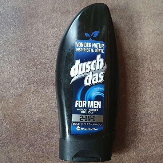 <strong>duschdas For Men</strong> 2-in-1 Duschgel & Shampoo