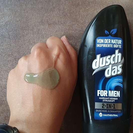duschdas for men 2-in-1 Duschgel & Shampoo