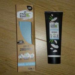 Produktbild zu ECOME Lovely Zahnpasta Kokosöl – Aktivkohle
