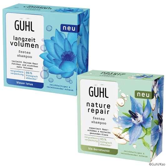 GUHL setzt jetzt auch auf feste Shampoos!