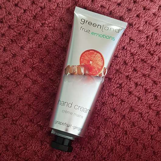 Greenland Hand Cream Grapefruit-Ginger