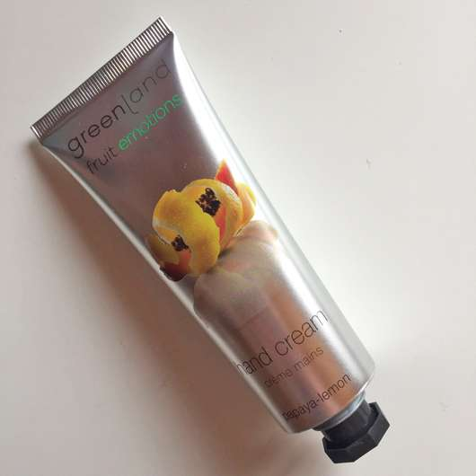 Greenland Hand Cream Papaya-Lemon