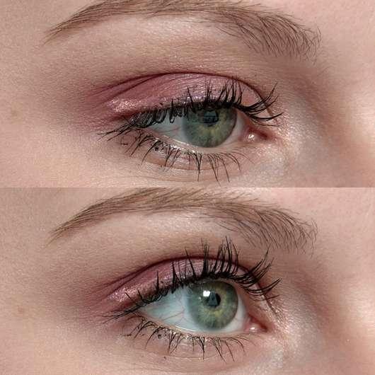 Eyeliner solo aufgetragen