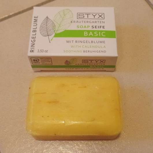 STYX Naturcosmetic Kräutergarten BASIC Seife mit Ringelblume