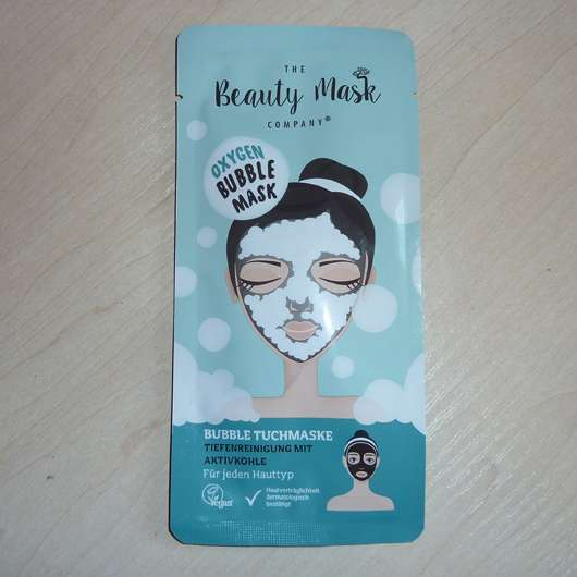 <strong>The Beauty Mask Company</strong> Oxygen Bubble Mask Tuchmaske