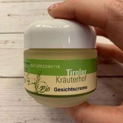 Produktbild zu Tiroler Kräuterhof Naturkosmetik Bio Gesichtscreme
