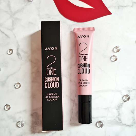 AVON CUSHION CLOUD Cremige Lippen- & Wangenfarbe, Farbe: Sugar And Spice