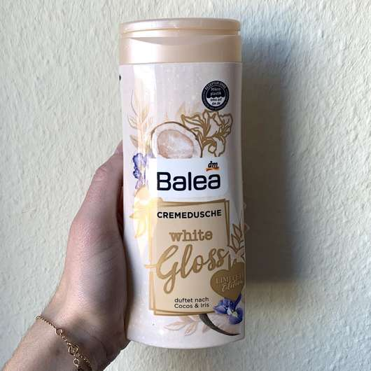 Balea Verwöhndusche White Gloss (LE)