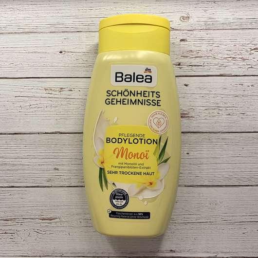 <strong>Balea</strong> Schönheitsgeheimnisse Pflegende Bodylotion Monoi