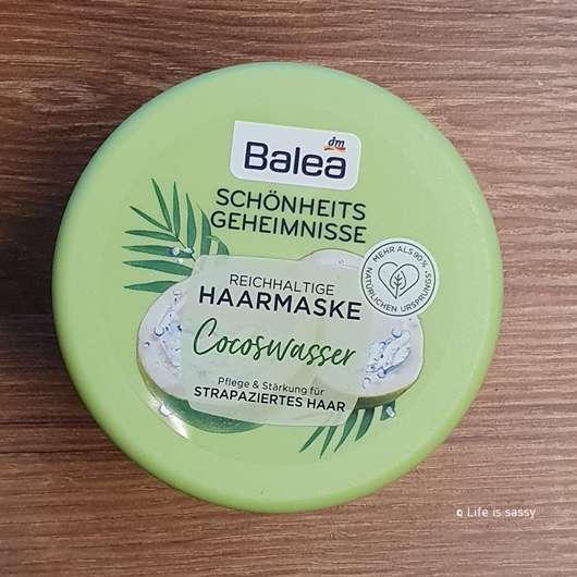 <strong>Balea</strong> Schönheitsgeheimnisse Reichhaltige Haarmaske Cocoswasser