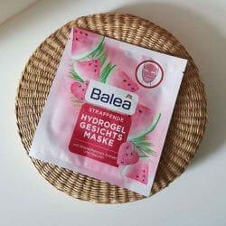 Produktbild zu Balea Straffende Hydrogel Gesichtsmaske