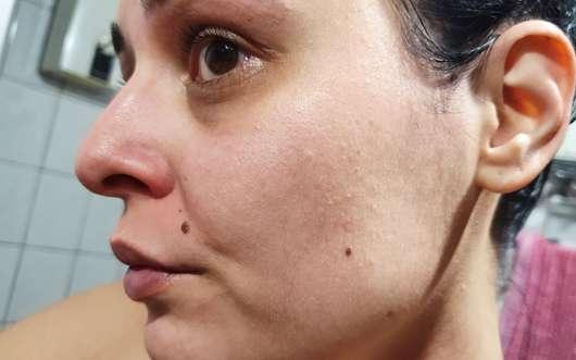 Balea Straffende Hydrogel Gesichtsmaske - Haut nach dem Test