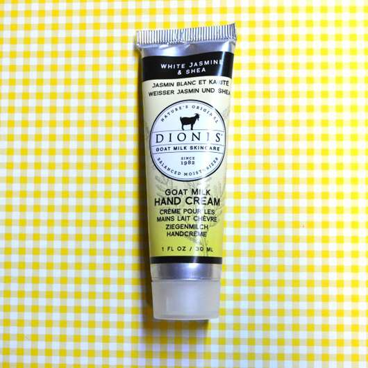 "<strong>Dionis™</strong> Goat Milk Hand Cream ""White Jasmine & Shea"""