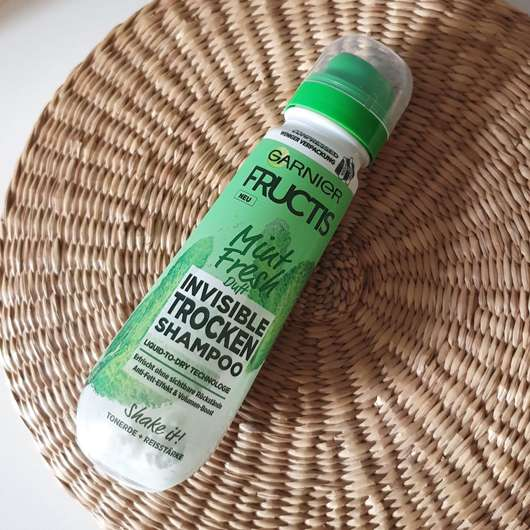 <strong>Garnier Fructis</strong> Mint Fresh Invisible Trockenshampoo
