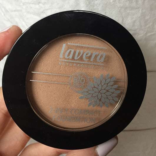 <strong>lavera Naturkosmetik</strong> 2-in-1 Compact Foundation - Farbe: 01 Ivory