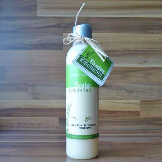 Tiroler Kräuterhof Naturkosmetik Bio Duschbad & Shampoo Heublume