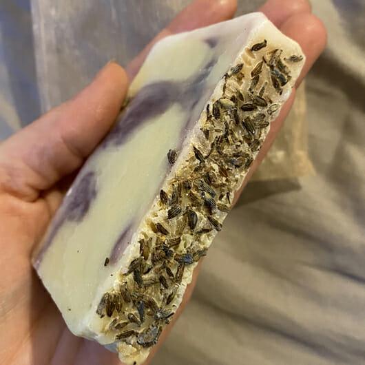 Tiroler Kräuterhof Naturkosmetik Bio-Lavendel-Naturseife