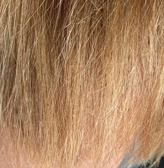 Haare vor der Anwendung des Argand'Or Arganöl Haaröls