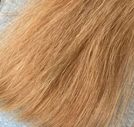 Haare nach der Anwendung des Argand'Or Arganöl Haaröls