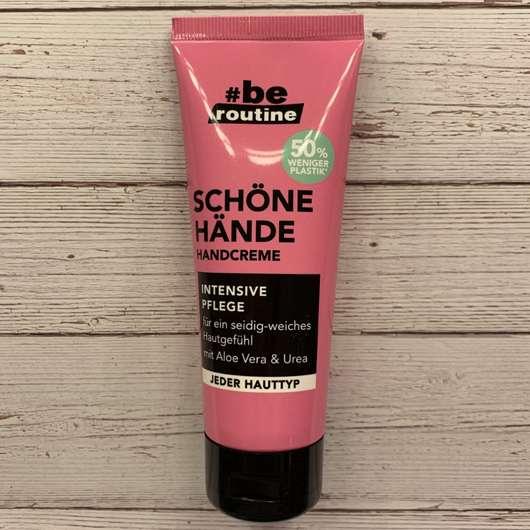 #be routine Handcreme Schöne Hände