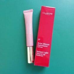 Produktbild zu Clarins Instant Light Natural Lip Perfector – Farbe: 07 Toffee Pink Shimmer