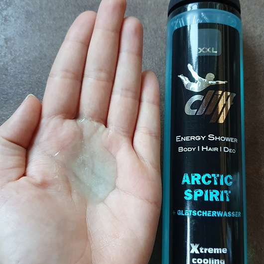 cliff Energy Shower ARCTIC SPIRIT