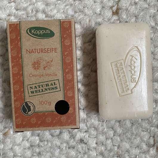 Kappus Naturseife Orange-Vanille