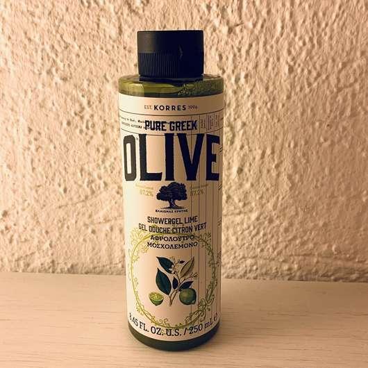 Korres Olive & Lime Showergel