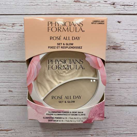 Physicians Formula Rosé All Day Set & Glow, Farbe: Luminous Light