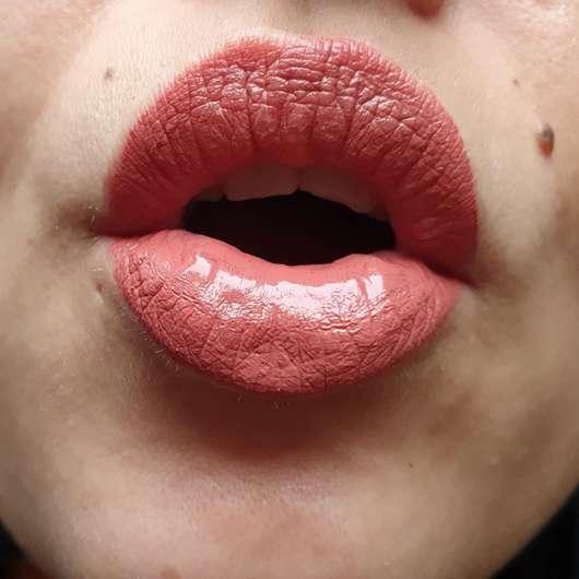 Lippen mit Physicians Formula The Healthy Lip Velvet Liquid Lipstick, Farbe: Bare With Me
