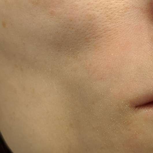 BIO:VÉGANE Bio Hanf 24H Pflege - Haut nach 4-wöchigem Test