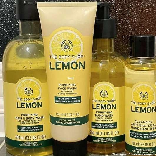 The Body Shop: Lemon-Serie 🍋