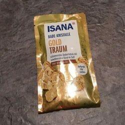 Produktbild zu ISANA Bade-Kristalle Goldtraum (LE)