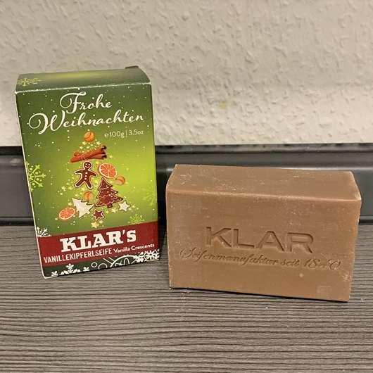 <strong>Klar Seifen</strong> Vanillekipferlseife (LE)