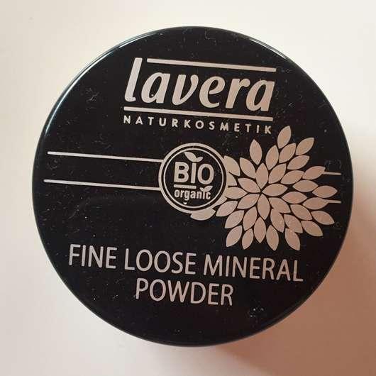 <strong>lavera Naturkosmetik</strong> Fine Loose Mineral Powder - Farbe: Transparent