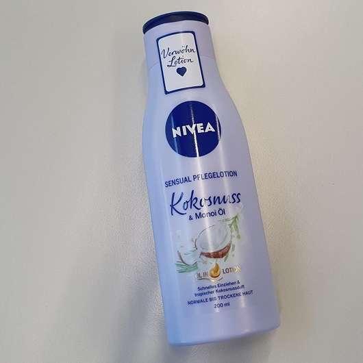 <strong>NIVEA</strong> Sensual Pflegelotion Kokosnuss & Monoi Öl