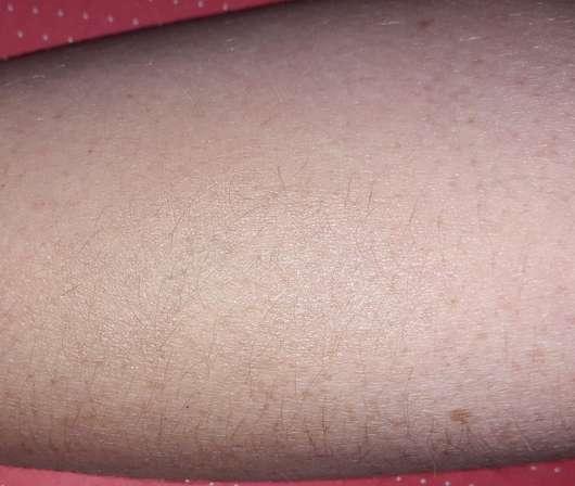 wet n wild Flat Top Brush - Swatch auf Unterarm nach dem Verblenden