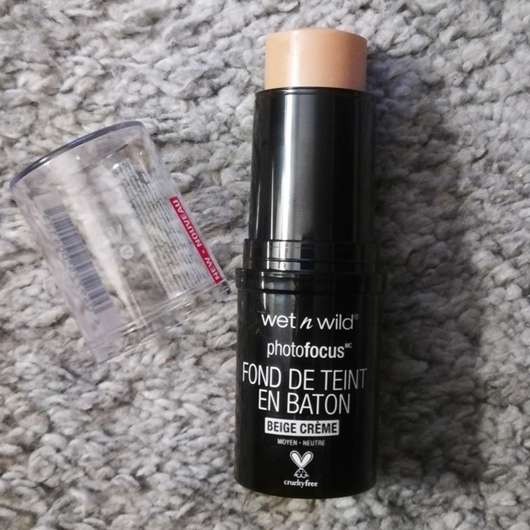 <strong>wet n wild</strong> Photo Focus Stick Foundation - Farbe: Cream Beige