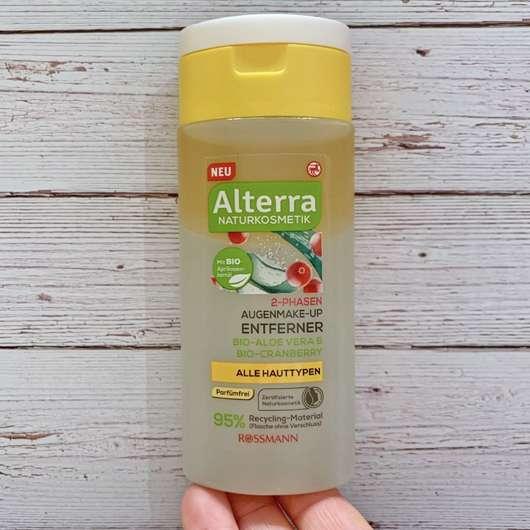 <strong>Alterra Naturkosmetik</strong> 2-Phasen Augen-Make-up Entferner