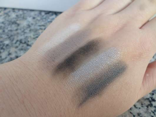 Bell HYPOAllergenic Nude Eyeshadow, Farbe: 02 - Swatches ohne Base