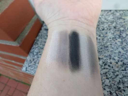 Bell HYPOAllergenic Nude Eyeshadow, Farbe: 02 - Swatches mit Base